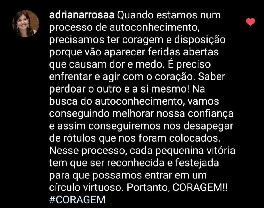 Depoimento Adriana Rosa