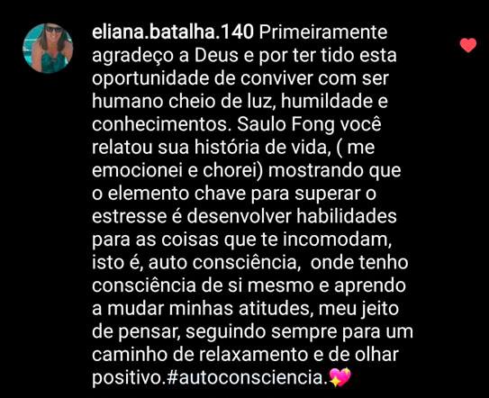 Depoimento Eliana